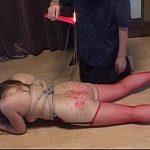 ポッチャリちゃんをSM調教 緊縛して鼻フック付けて蝋燭責め XVIDEOS