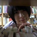 図書館でショートカットの痴女が淫語連発でセンズリ強要 FC2動画