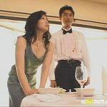 【酒井ちなみ】四十路高身長巨乳美熟女セレブ人妻は旦那が車椅子なのをいいことに夜な夜な執事の男と不倫SEXしてますよ