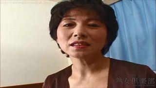 【石倉久子】テレクラにはまってる51歳専業主婦にインタビューしてからAV撮影♪この歳でイッたことがないんだってさ